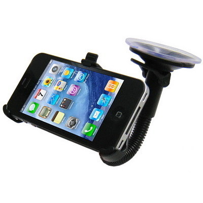 iPhone 4 Autohouder - zwart